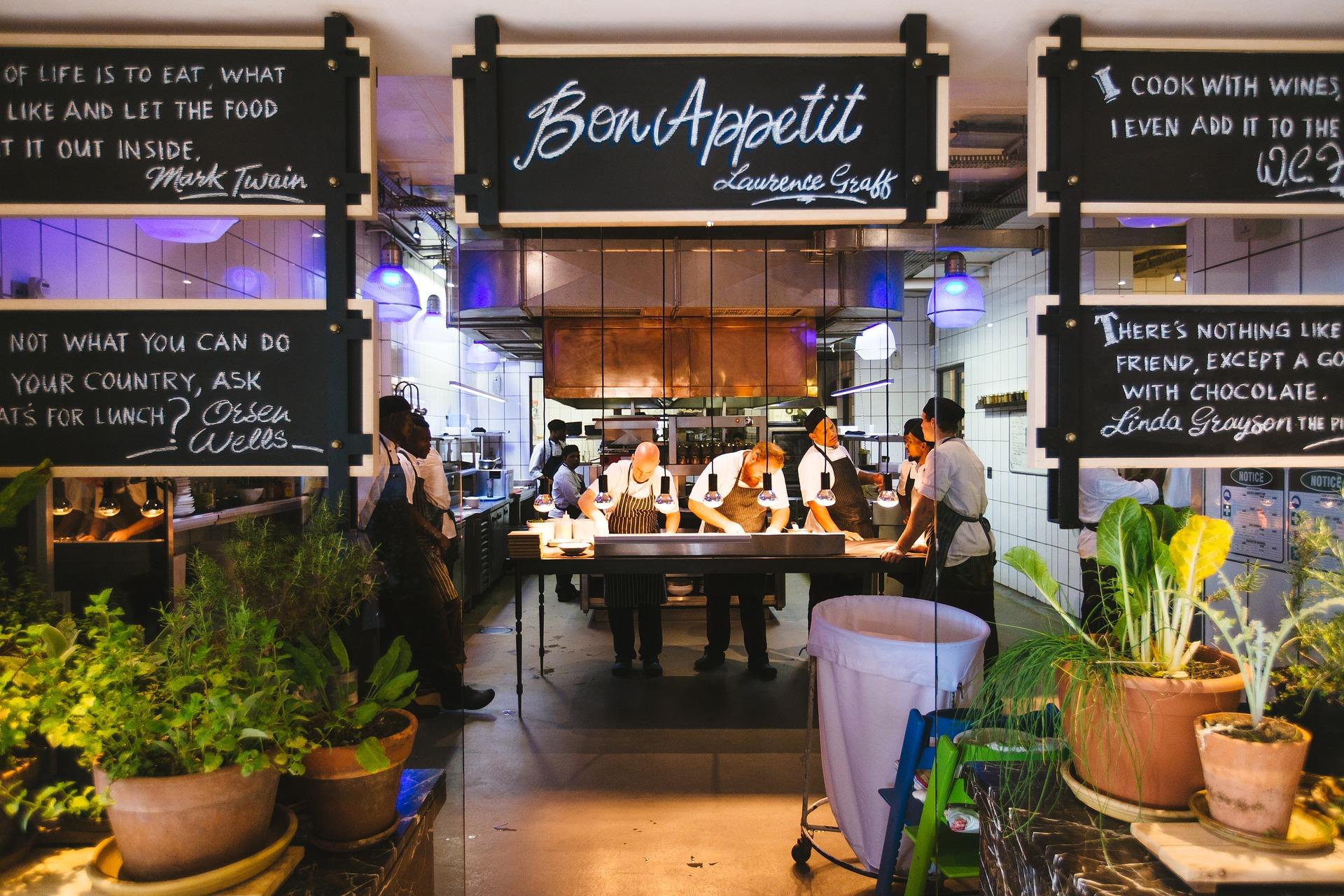 Carte de restaurant digitale